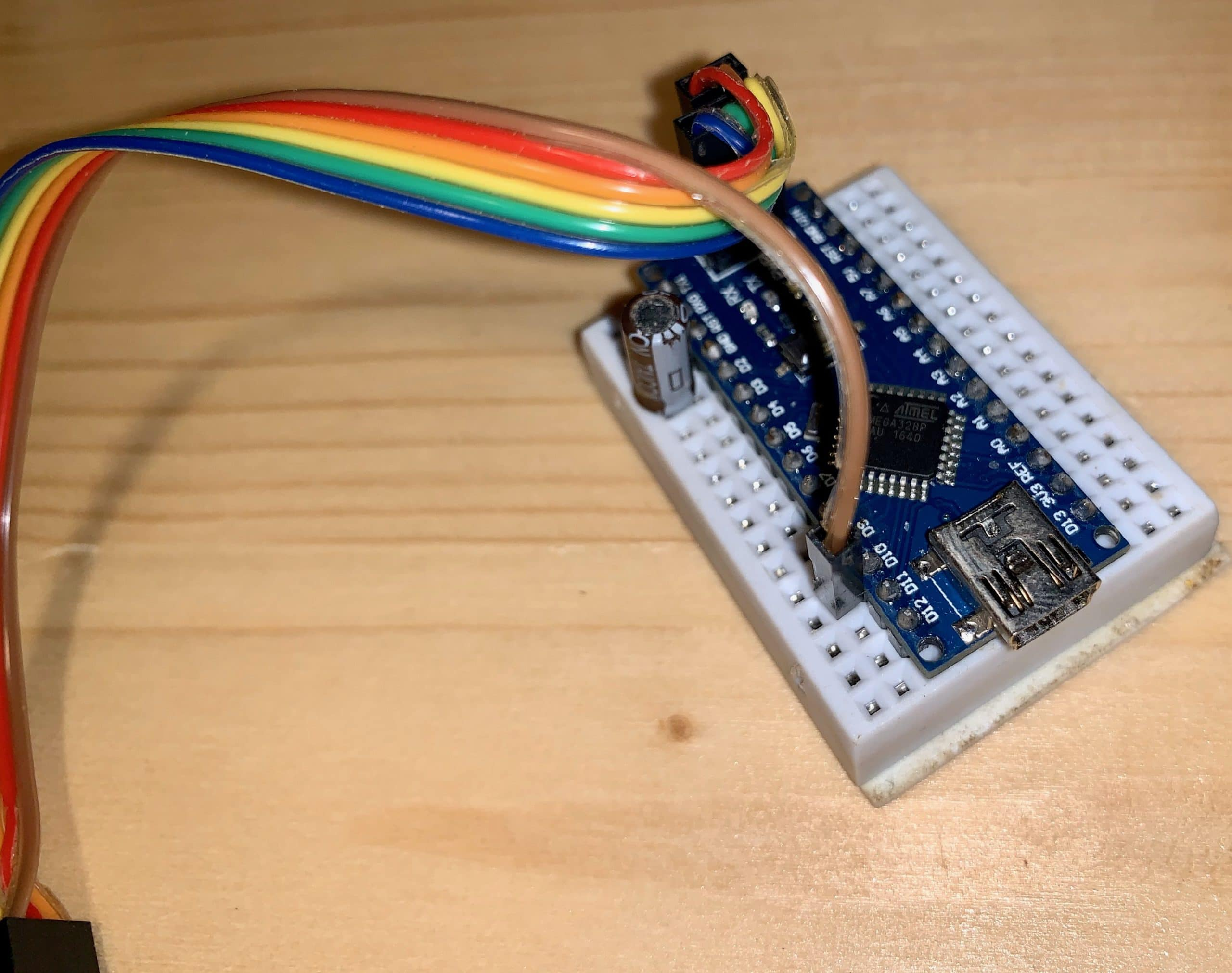 AVR ISP using Arduino Nano with Cable